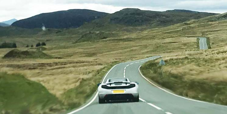 Best driving roads in Snowdonia